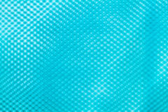 Blurred light blue color of black nylon net  background Stock Photos
