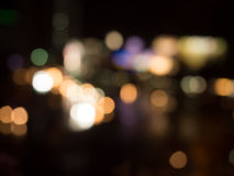 Blurred light bokeh for background. Abstract blurred light bokeh for background Stock Images