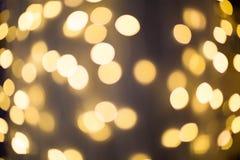 Blurred light, Bokeh effect Stock Images