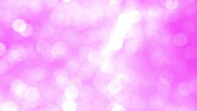 Blurred Light Pink Sparkles stock video