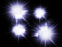 Blurred Light Spots Background Means Twinkling Reflections Or Sp Royalty Free Stock Images
