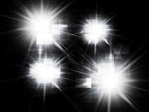 Blurred Light Spots Background Shows Blurry Design Or Artwork Stock Photo