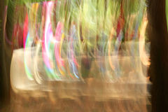 Blurred light trails - background beauty Royalty Free Stock Image