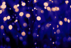 Blurred light in warm tone backgrounds Stock Images