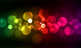 Blurred lights. Abstract background with blurred lights Stock Image
