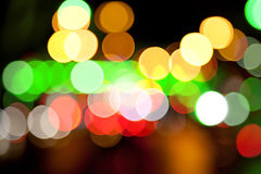 Blurred lights Stock Photos