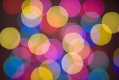 blurred lights Στοκ Φωτογραφίες