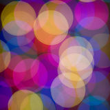 Blurred lights. Stock Photography