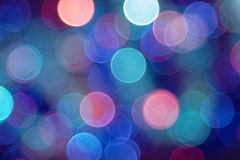 Blurred lights. Colored blurred lights can serve as background royalty free stock photo