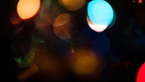 blurred lights Στοκ εικόνες με δικαίωμα ελεύθερης χρήσης