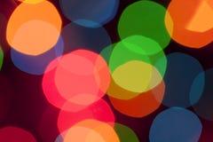 blurred lights Στοκ Εικόνες