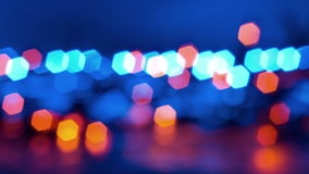 Blurred lights abstract backgrounds stock footage