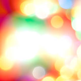 Blurred lights Stock Image