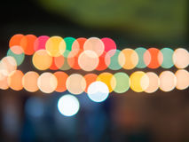 Blurred lights abstract color Stock Photo