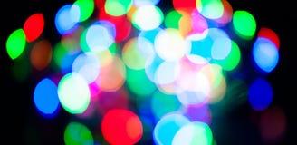 Blurred lights Stock Images