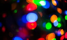 Blurred lights Stock Photography