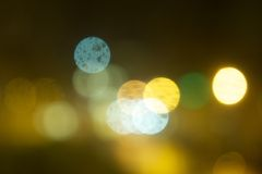 Blurred lights. Background - bokeh background Royalty Free Stock Photos