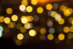 blurred lights background, bokeh circles background Stock Photos