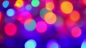 Blurred lights background stock video