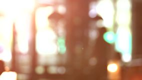 Blurred lights background for hromakey. Blurred glowing bright lights for hromakey stock footage