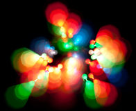 Blurred lights Stock Images