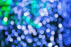 Blurred Lights, Christmas Celebration. Blurred Lights, Defocused Decoration, Sparkles stock image