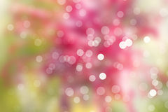Blurred lights and defocused light dots Royalty Free Stock Photo