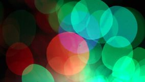Blurred lights, motion background stock video footage
