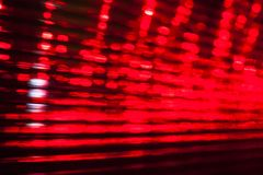 Blurred lights. Moving across the night city stock images