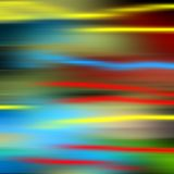 Blurred lights in pastel colors, background. Blurred lights in yellow, red, blue and orange hues, colorful vivid background. Abstract design and texture Stock Image