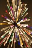 blurred lights radial Στοκ εικόνες με δικαίωμα ελεύθερης χρήσης