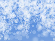 Blurred lights and sparkles Royalty Free Stock Images