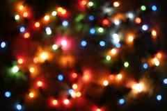 blurred lights tree Στοκ εικόνες με δικαίωμα ελεύθερης χρήσης
