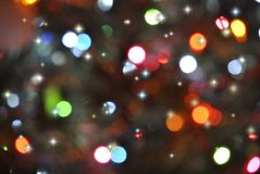 Blurred lights. Various colored lights with blurred look Royalty Free Stock Photography