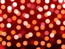 Blurred lights vector Royalty Free Stock Images