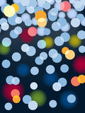 Blurred lights vector Stock Images