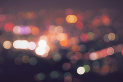 Blurred lights Royalty Free Stock Image