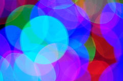 Blurred lights wallpaper Royalty Free Stock Image