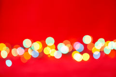 Blurred lights xmas background Royalty Free Stock Photography