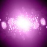 Blurred lights. Blurred xmas lights on a pink background royalty free illustration