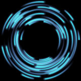 Blurred magic neon light. EPS 10 Royalty Free Stock Photos