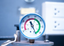 Blurred medical equipment Ambulance. Stock Image