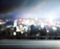 Blurred modern city Stock Images