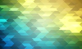 Blurred mosaic background of rhombuses Royalty Free Stock Photos