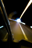 Blurred motion from car. Stock Images