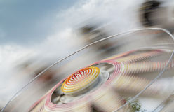 Blurred motion carousel Stock Photography