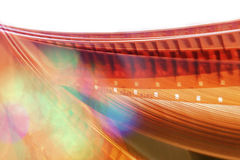 Blurred motion film reel. royalty free stock photos
