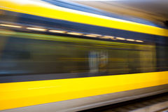 Blurred Motion Metro Royalty Free Stock Images