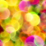 Blurred Multicolored Circles Background Royalty Free Stock Images