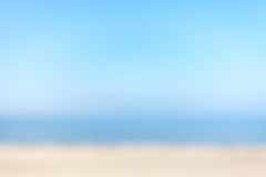 Blurred natural beach background, space for text Royalty Free Stock Images